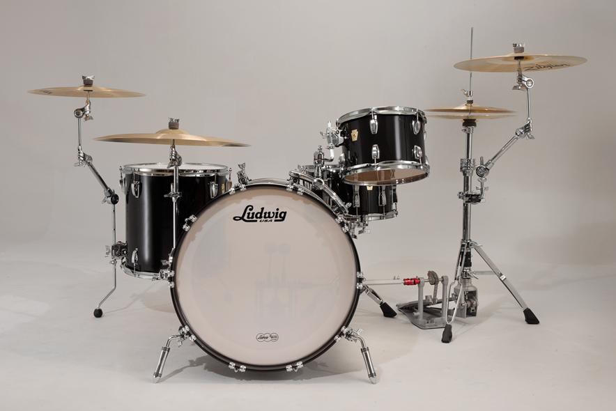ludwig atlas arch rail mounted bass drum tom holder ebay. Black Bedroom Furniture Sets. Home Design Ideas