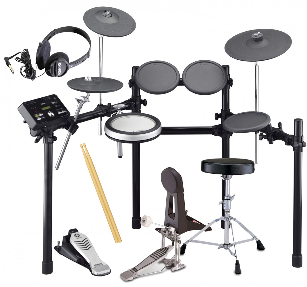 Yamaha Dtxk Electronic Drum Set