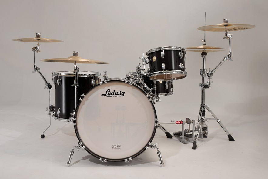 ludwig atlas arch rail mounted bass drum tom holder. Black Bedroom Furniture Sets. Home Design Ideas