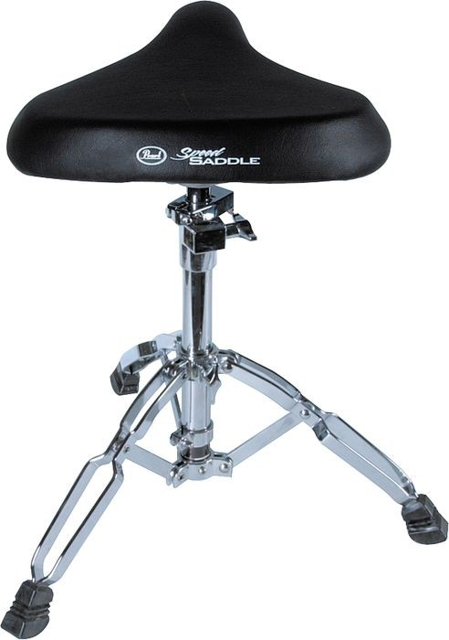 Pearl D 80 Drum Throne Double Braced Saddle Seat