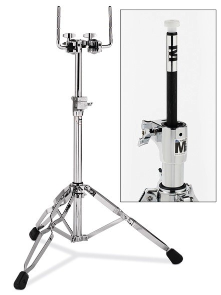 drum workshop dw 9000 series heavy duty air lift double tom stand. Black Bedroom Furniture Sets. Home Design Ideas
