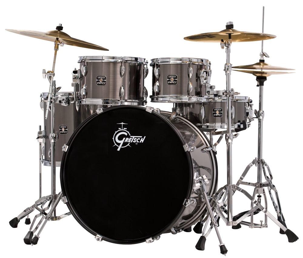 gretsch energy complete drum set with sabian sbr cymbal pack. Black Bedroom Furniture Sets. Home Design Ideas