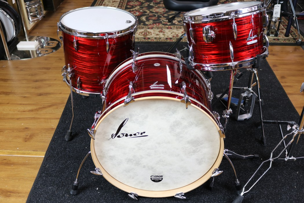 Sonor vintage series 3 piece shell pack 13 16 22 in for Classic house drums