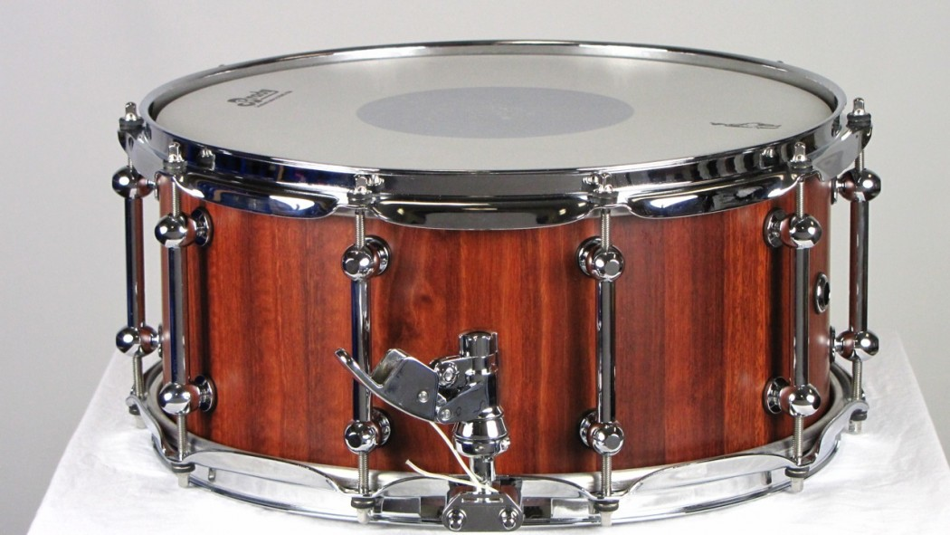 brady 14 x 6 5 jarrah block snare drum natural satin finish. Black Bedroom Furniture Sets. Home Design Ideas