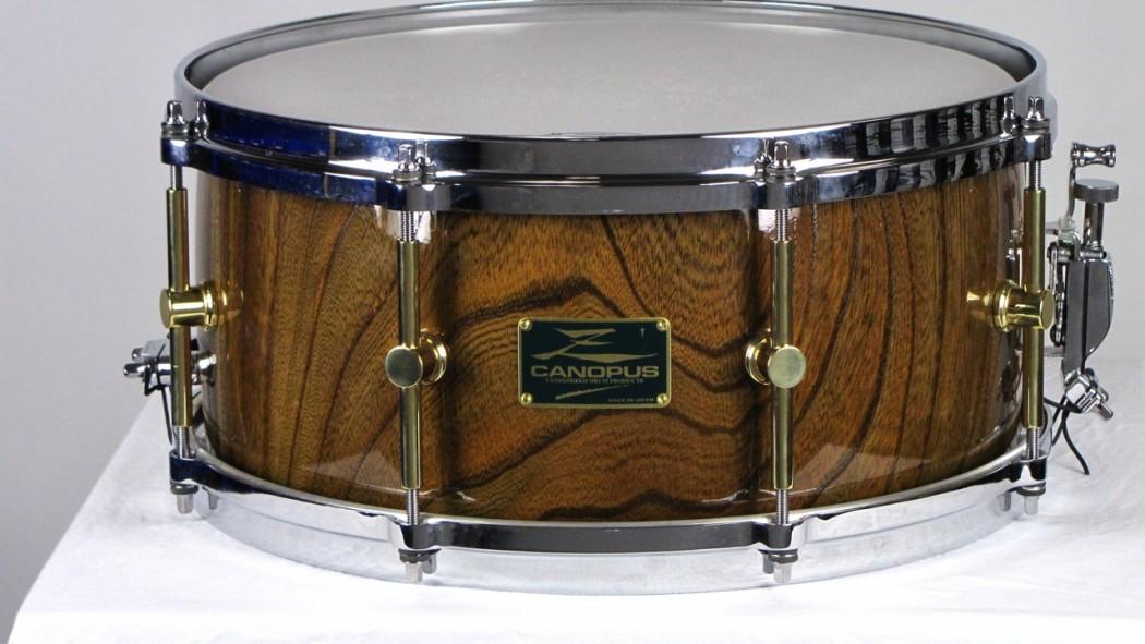 canopus zelkova 14x6 5 solid snare drum. Black Bedroom Furniture Sets. Home Design Ideas