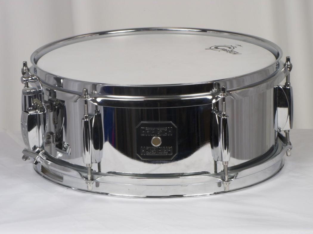 gretsch 5x12 chrome snare drum. Black Bedroom Furniture Sets. Home Design Ideas