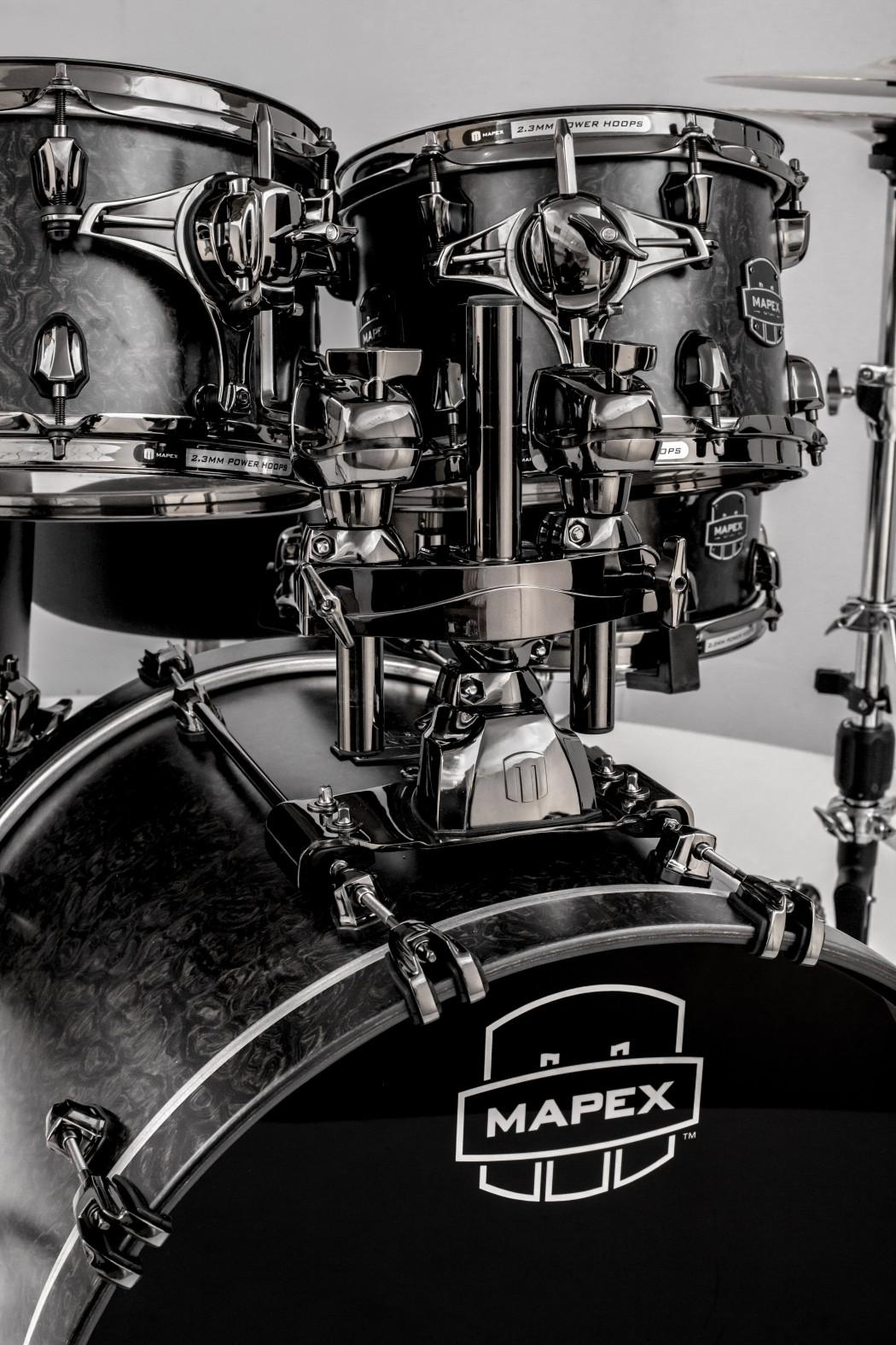 Mapex Saturn Iv Chrome Bass Drum Mount Assembly 22 Quot X16 Quot