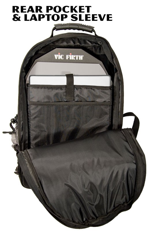 Vic Firth Vicpack Drummers Backpack - drumstickboo.com