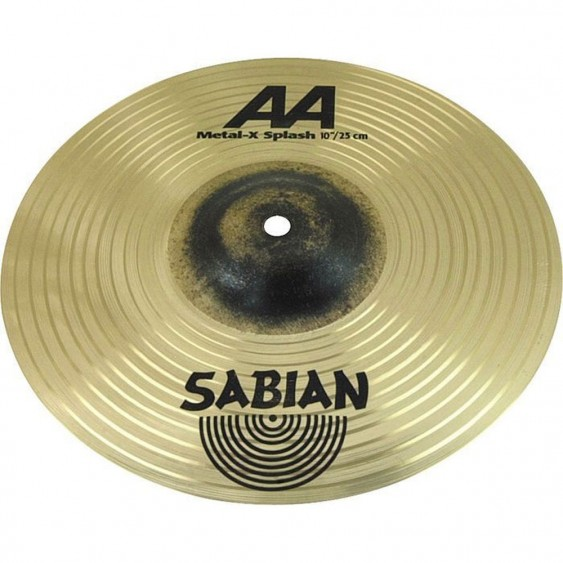 "SABIAN 10"" AA Metal-X Splash Brilliant Cymbal"