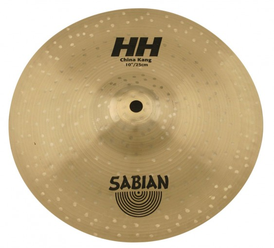 "SABIAN 10"" HH China Kang Brilliant Cymbal"