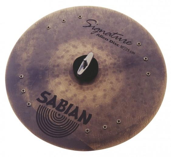 """SABIAN 10"""" Vault Calhoun Alien Disc Cymbal"""