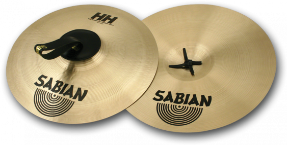 "SABIAN 20"" HHX New Symphonic Medium Heavy Pair Cymbal"