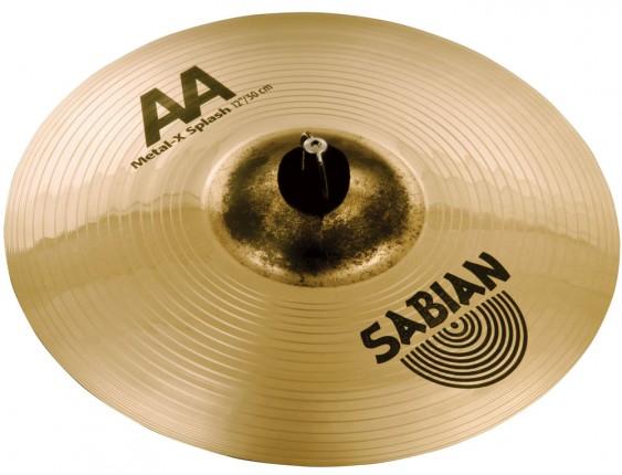 "SABIAN 12"" AA Metal-X Splash Brilliant Cymbal"
