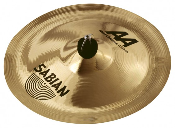 "SABIAN 12"" AA Mini Chinese Brilliant Cymbal"