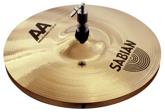 "SABIAN 12"" AA Mini Cymbal Hats Brilliant"