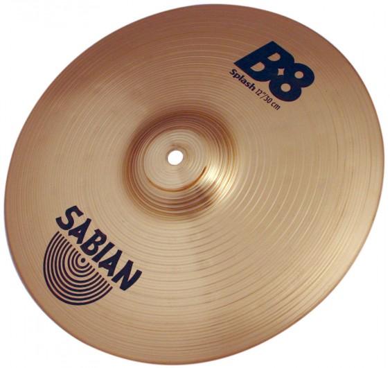"SABIAN 12"" B8 Splash Cymbal"