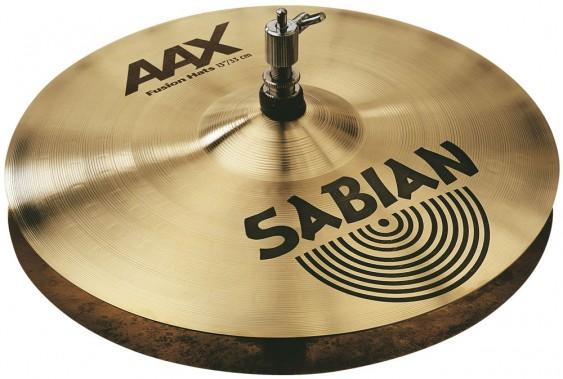 """SABIAN 13"""" AAX Fusion Cymbal Hats Brilliant"""