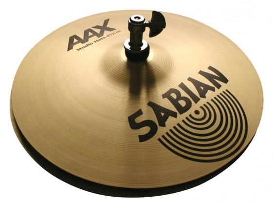 """SABIAN 13"""" AAX Studio Cymbal Hats"""
