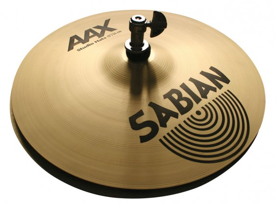 """SABIAN 13"""" AAX Studio Cymbal Hats Brilliant"""