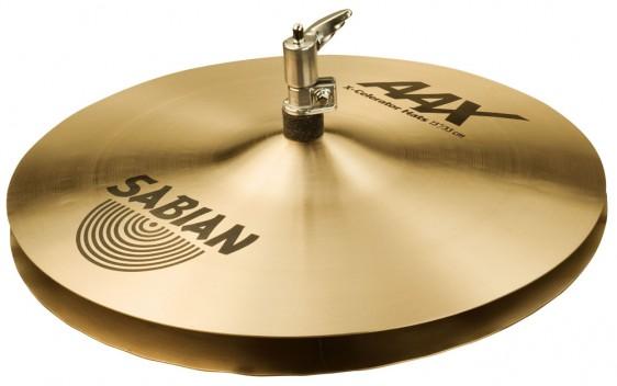 """SABIAN 13"""" AAX X-Celerator Cymbal Hats Brilliant"""