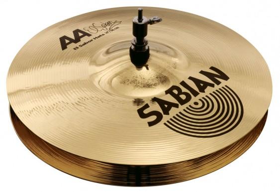 """SABIAN 14"""" AA El Sabor Cymbal Hats Brilliant"""