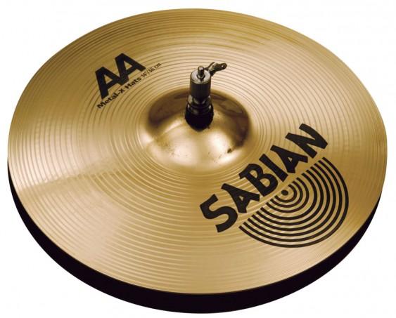 """SABIAN 16"""" AA Metal-X Cymbal Hats Brilliant"""