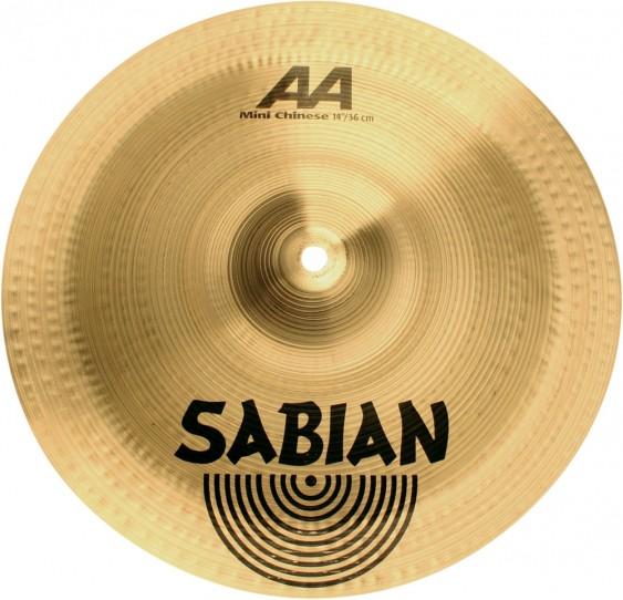 """Sabian 14"""" AA Mini Chinese Brilliant Finish"""