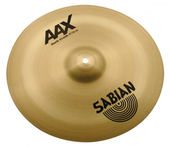 "SABIAN 14"" AAX Dark Crash Brilliant Cymbal"