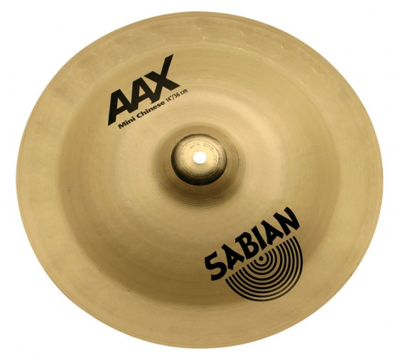 "SABIAN 14"" AAX Chinese Crash Brilliant Cymbal"