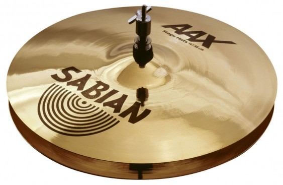 "SABIAN 14"" AAX Stage Cymbal Hats Brilliant"