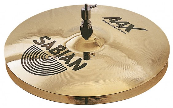 """SABIAN 14"""" AAX Studio Cymbal Hats Brilliant"""