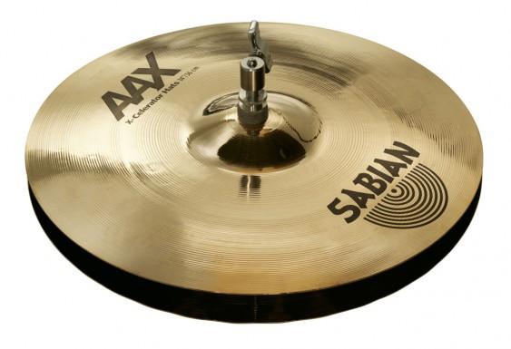 """SABIAN 14"""" AAX X-Celerator Cymbal Hats Brilliant"""