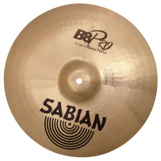 "SABIAN 14"" B8 Pro Rock Cymbal Hats"