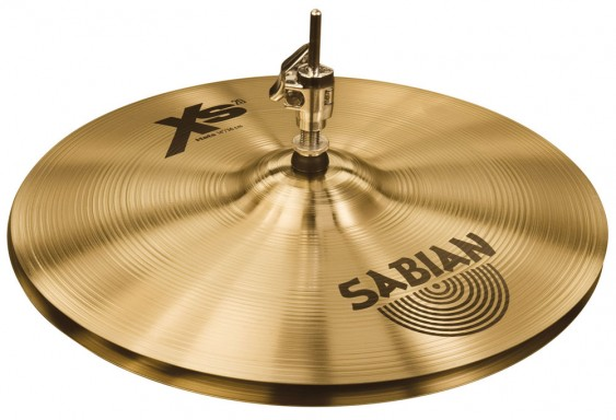 "SABIAN 14"" Xs20 Medium Cymbal Hats Brilliant"