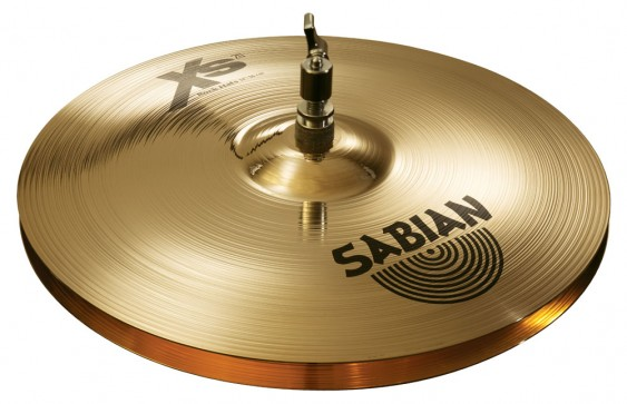 "SABIAN 14"" Xs20 Rock Cymbal Hats Brilliant"