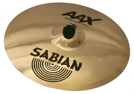 """SABIAN 15"""" AAX Studio Crash Brilliant Cymbal"""