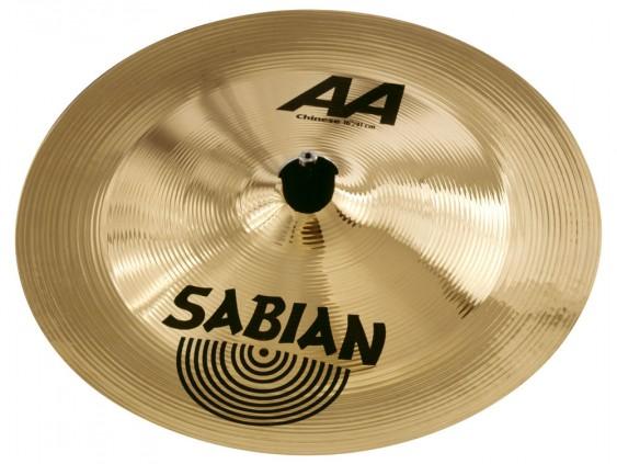 "SABIAN 16"" AA Chinese Regular Brilliant Cymbal"