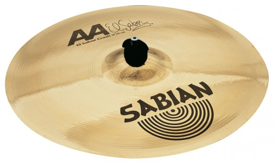 "SABIAN 16"" AA El Sabor Crash Brilliant Cymbal"