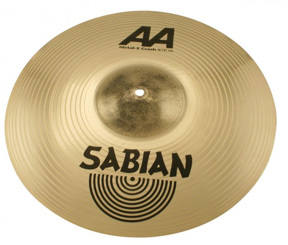 "SABIAN 16"" AA Metal-X Crash Brilliant Cymbal"