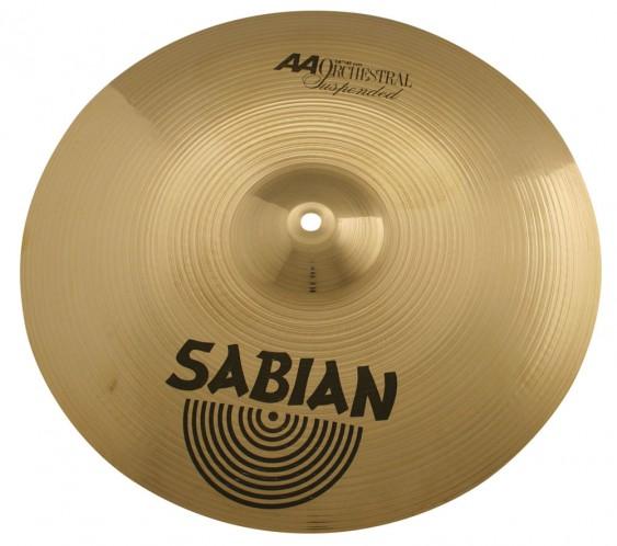 "SABIAN 16"" AA Suspended Brilliant Cymbal"