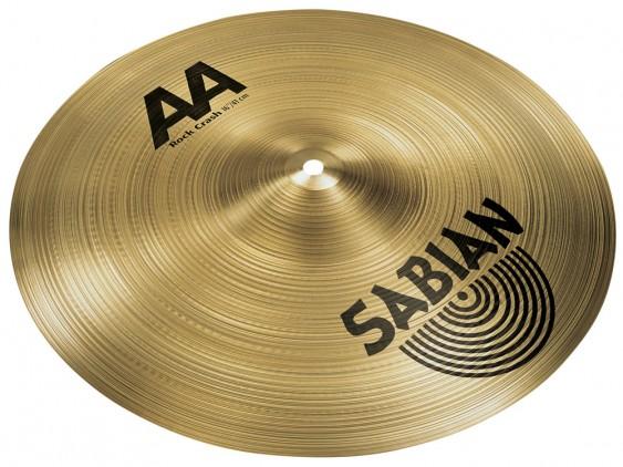 """SABIAN 16"""" AA Rock Crash Brilliant Cymbal"""