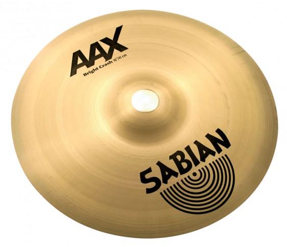 "SABIAN 16"" AAX Bright Crash Brilliant Cymbal"