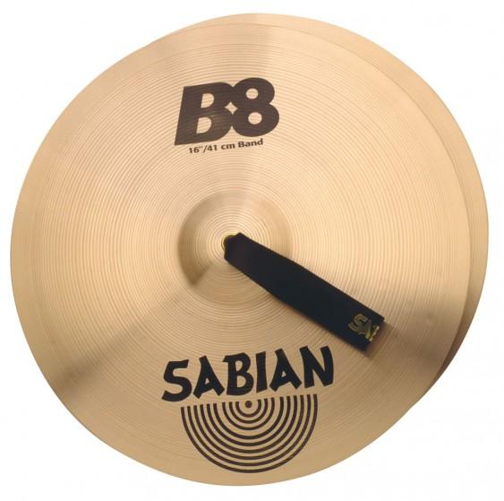 """SABIAN 16"""" B8 Band Pair Cymbal"""