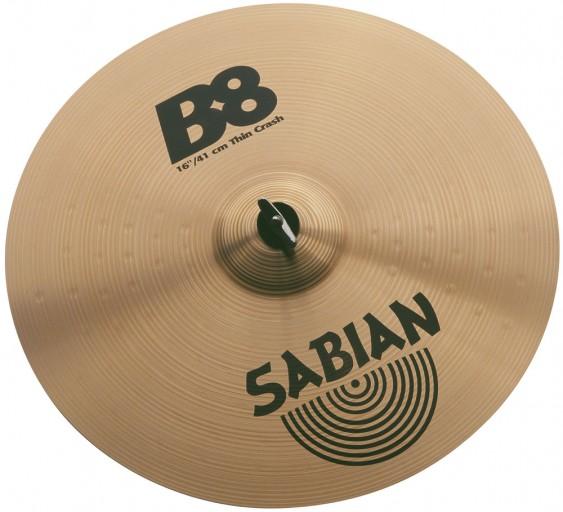 """SABIAN 18"""" B8 Thin Crash Cymbal"""