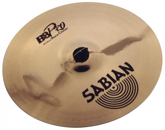 "SABIAN 16"" B8 Pro Rock Crash Cymbal"