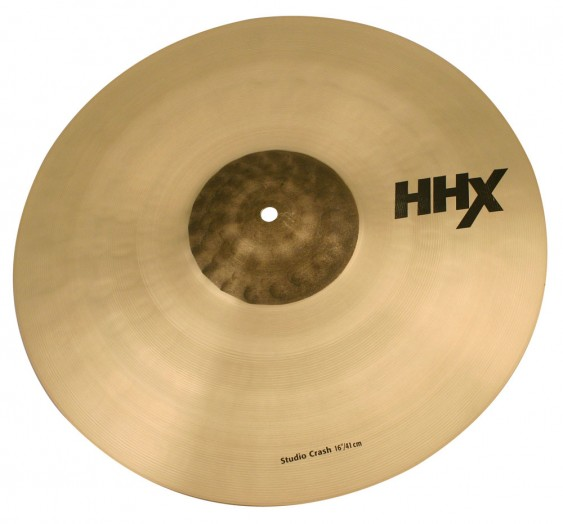 "Sabian 16"" HHX Studio Crash"