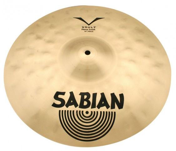 "SABIAN 17"" Vault JoJo Mayer Fierce Crash Cymbal"