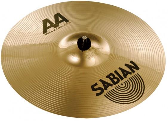"""SABIAN 17"""" AA Metal-X Crash Brilliant Cymbal"""
