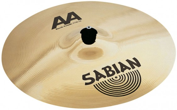 "SABIAN 17"" AA Rock Crash Brilliant Cymbal"