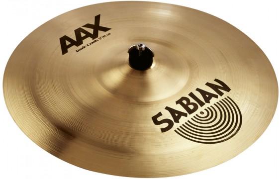 """SABIAN 17"""" AAX Dark Crash Brilliant Cymbal"""
